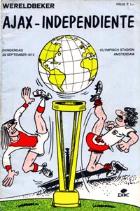 Intercontinental 1972: Ajax x Independiente  WCCF1972-Ajax