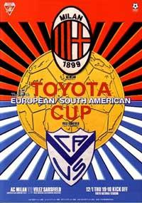 Copa Intercontinental 1994: Vélez Sarsfield x Milan WCCF1994