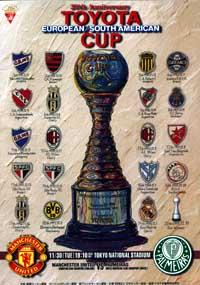 Intercontinental 1999: Manchester United x Palmeiras WCCF1999